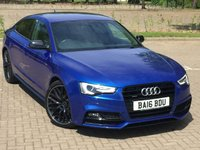 USED 2016 16 AUDI A5 2.0 TDI QUATTRO BLACK EDITION PLUS 5d 187 BHP