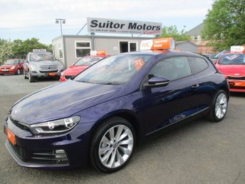 2016 VOLKSWAGEN SCIROCCO 2.0 GT TDI BLUEMOTION TECHNOLOGY 2d 150 BHP £13950.00