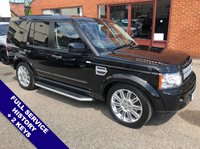 USED 2013 13 LAND ROVER DISCOVERY 3.0 4 SDV6 HSE 5DOOR AUTO 255 BHP Family 7-Seater : DAB Radio : Sat Nav : Isofix Fittings : USB Socket : Heated Windscreen   Auto Headlights   :   Cruise Control / Speed Limiter   :   Phone Bluetooth Connectivity      Climate Control / Air Conditioning     :     Heated Front & Rear Seats     :     Electric Front Seats       Full Brown Leather Upholstery                  :                  Hands Free Voice Control                Rear View Camera : Full Service History