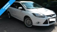 USED 2015 15 FORD FOCUS 1.0 ZETEC ECOBOOST 100 BHP THIS VEHICLE IS AT SITE 2 - TO VIEW CALL US ON 01903 323333