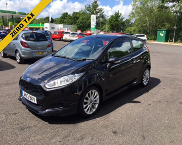 2013 13 FORD FIESTA 1.0 ZETEC S ECOBOOST (125PS) 3dr