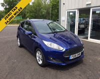 USED 2016 16 FORD FIESTA 1.0 ZETEC ECOBOOST (100PS) 3dr THIS VEHICLE IS AT SITE 1 - TO VIEW CALL US ON 01903 892224