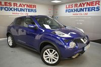 USED 2017 17 NISSAN JUKE 1.5 N-CONNECTA DCI 5d 110 BHP Bluetooth, Cruise control, Reversing Camera, 1 Owner, Low miles