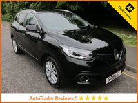 USED 2016 16 RENAULT KADJAR 1.5 DYNAMIQUE NAV DCI 5d 110 BHP Fantastic Value Lady Owned Renault Kadjar with Satellite Navigation,  Climate Control, Cruise Control, Alloy Wheels and Renault Service History. This Vehicle is ULEZ Compliant with a EURO 6 Rated Engine.