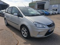 USED 2008 08 FORD C-MAX 1.8 ZETEC 5d 124 BHP **2 OWNERS**FULL DEALER HISTORY**SUPERB DRIVE**