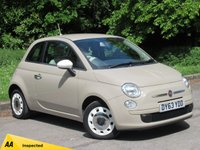 USED 2013 63 FIAT 500 1.2 COLOUR THERAPY 3d 69 BHP LOW MILEAGE STARTER CAR, AIR CON