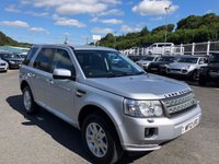 USED 2012 12 LAND ROVER FREELANDER 2.2 TD4 XS 5d 150 BHP Black leather, electric & heated seats, Sat Nav, DAB, Bluetooth, just had cambelt service