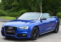 USED 2015 15 AUDI A5 2.0 TDI S LINE SPECIAL EDITION PLUS 2d 175 BHP ** SEPANG BLUE ** ** SAT NAV **