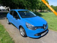 USED 2014 64 RENAULT CLIO 1.5 DYNAMIQUE MEDIANAV ENERGY DCI S/S 5d 90 BHP