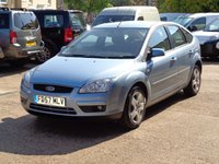 2007 FORD FOCUS 1.6 1d  £1699.00