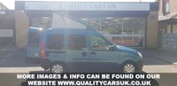 USED 2009 09 RENAULT KANGOO 1.6 AUTHENTIQUE 16V 5d AUTO 94 BHP MICRO CAMPER