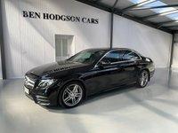 2016 MERCEDES-BENZ E CLASS 2.0 E 220 D AMG LINE 4d AUTO 192 BHP £22995.00