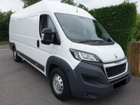 USED 2014 64 PEUGEOT BOXER PROFESSIONAL L4H2 EXTRA LWB HIGHTOP 2.0HDI 130 BHP Top Of Range Model Direct From One Company Owner And Only Been Used For Light Use, Very Clean Inside And Out Viewing Highly Recommended!