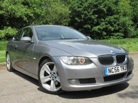 USED 2007 56 BMW 3 SERIES 2.5 325I SE 2d 215 BHP 12 SERVICE STAMPS, MOT 4/20
