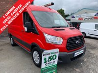 USED 2015 64 FORD TRANSIT 2.2 350 125 BHP MWB MED ROOF 1 OWNER FULL SERVICE HISTORY AIR CON  1 OWNER AIR CON FULL SERVICE HISTORY