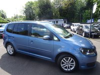 USED 2012 62 VOLKSWAGEN TOURAN 1.6 SE TDI BLUEMOTION TECHNOLOGY 5d 103 BHP