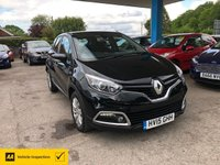USED 2015 15 RENAULT CAPTUR 1.5 EXPRESSION PLUS ENERGY DCI S/S 5d 90 BHP