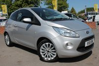 USED 2011 11 FORD KA 1.2 ZETEC 3d 69 BHP EXCELLENT SERVICE HISTORY - 2 FORMER KEEPERS - ALLOY WHEELS - CD PLAYER