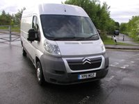 USED 2011 11 CITROEN RELAY 2.2 35 L3H2 ENTERPRISE HDi 120 BHP Van - NO VAT Air Con, Ply Lined, 62000 miles, Good Service History, Excellent Conversion Opportunity