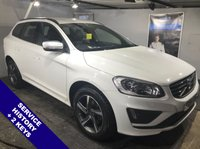 """USED 2014 64 VOLVO XC60 2.0 D4 R-DESIGN 5DOOR 178 BHP DAB Radio    :    USB & AUX Sockets    :    Cruise Control    :    Bluetooth Connectivity    R-Design Steering Wheel   :   Heated Front Seats   :   Contrasting Black Leather Upholstery    18"""" Alloy Wheels : Comprehensive Service History"""
