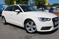 USED 2015 15 AUDI A3 2.0 TDI SPORT 5d 148 BHP 1 OWNER FROM NEW - EXCELLENT SERVICE HISTORY - ONLY £20 PER YEAR ROAD TAX