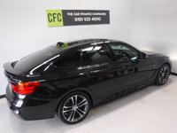 USED 2016 16 BMW 3 SERIES 3.0 330D XDRIVE M SPORT GRAN TURISMO 5d AUTO 255 BHP ONE PREVIOUS OWNER,  MAIN DEALER SERVICE HISTORY, BLACK DAKOTA LEATHER HEATED SEATS