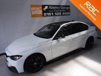 USED 2014 14 BMW 3 SERIES 2.0 318D M SPORT 4d 141 BHP BLUETOOTH,  CRUISE CONTROL, CLIMATE CONTROL. SAT NAV MSPORT PACK.