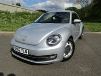 USED 2012 62 VOLKSWAGEN BEETLE 1.4 DESIGN TSI 3d 158 BHP VERY RARE EXAMPLE!!