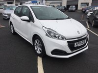 USED 2017 17 PEUGEOT 208 1.6 BLUE HDI ACTIVE 5d 75 BHP