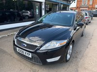 USED 2008 08 FORD MONDEO 2.0 ZETEC 145 5d 144 BHP FINANCE ME,MOT,SERVICE HISTORY