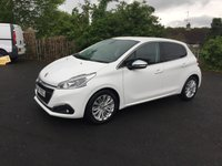 USED 2017 17 PEUGEOT 208 1.6 BLUE HDI S/S ALLURE 5d 75 BHP