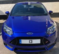 USED 2013 13 FORD FOCUS ST-3 2.0T 5DR 250 BHP, SUNROOF, FULL SERVICE HISTORY. DEPOSIT TAKEN - SIMILAR VEHICLES WANTED.