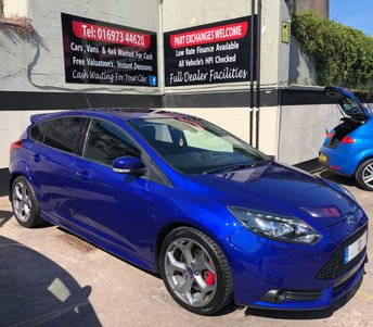 2013 FORD FOCUS ST-3 2.0T 5DR 250 BHP, SUNROOF, FULL SERVICE HISTORY. £11950.00