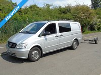 2014 MERCEDES-BENZ VITO 2.1 116 CDI BLUEEFFICIENCY DUALINER 163 BHP LWB CREW RECOVERY/CAR TRANSPORTER £12000.00