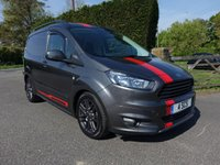USED 2017 FORD TRANSIT COURIER SPORT 1.5 TDCI 95 BHP Rare Van With No VAT! Top Of Range Sport Van With Additional Sat Nav, Rear Camera And Tailgate! Stunning Example In Magnetic Grey Viewing Highly Recommended!
