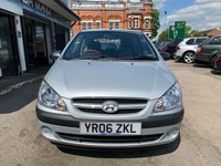 USED 2006 06 HYUNDAI GETZ 1.1 GSI SE 3d 65 BHP IDEAL 1ST CAR, LOW MILES, LONG MOT