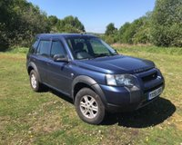 USED 2005 55 LAND ROVER FREELANDER 2.0 TD4 S STATION WAGON 5d 110 BHP