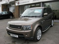 2010 LAND ROVER RANGE ROVER SPORT 3.0 TDV6 HSE 5d AUTO 245 BHP £SOLD