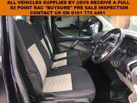 USED 2016 66 FORD TRANSIT CUSTOM 290 LIMITED LR P/V LWB L2 EURO 6 130BHP FACTORY 6 SEAT CREW / KOMBI VAN LIMITED IN MET BLACK