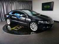 USED 2013 13 VOLKSWAGEN CC 2.0 GT TDI BLUEMOTION TECHNOLOGY 4d 175 BHP £0 DEPOSIT FINANCE AVAILABLE, ACC ADAPTIVE CHASSIS CONTROL, AIR CONDITIONING, AUTOMATIC HEADLIGHTS, BLUETOOTH CONNECTIVITY, CLIMATE CONTROL, CRUISE CONTROL, DAB RADIO, ELECTRONIC PARKING BRAKE WITH AUTO HOLD, FULL LEATHER UPHOLSTERY, HEATED SEATS, PARK ASSIST & SENORS, SATELLITE NAVIGATION, START/STOP SYSTEM, STEERING WHEEL CONTROLS, TOUCH SCREEN HEAD UNIT, TRIP COMPUTER