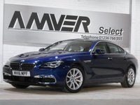USED 2016 16 BMW 6 SERIES 3.0 640I SE GRAN COUPE 4d AUTO 316 BHP