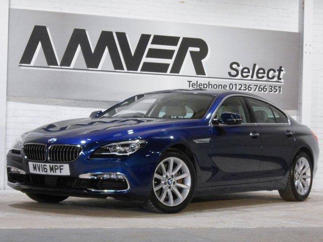 2016 16 BMW 6 SERIES 3.0 640I SE GRAN COUPE 4d AUTO 316 BHP