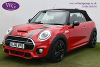 USED 2018 18 MINI CONVERTIBLE 2.0 COOPER S 2d 189 BHP