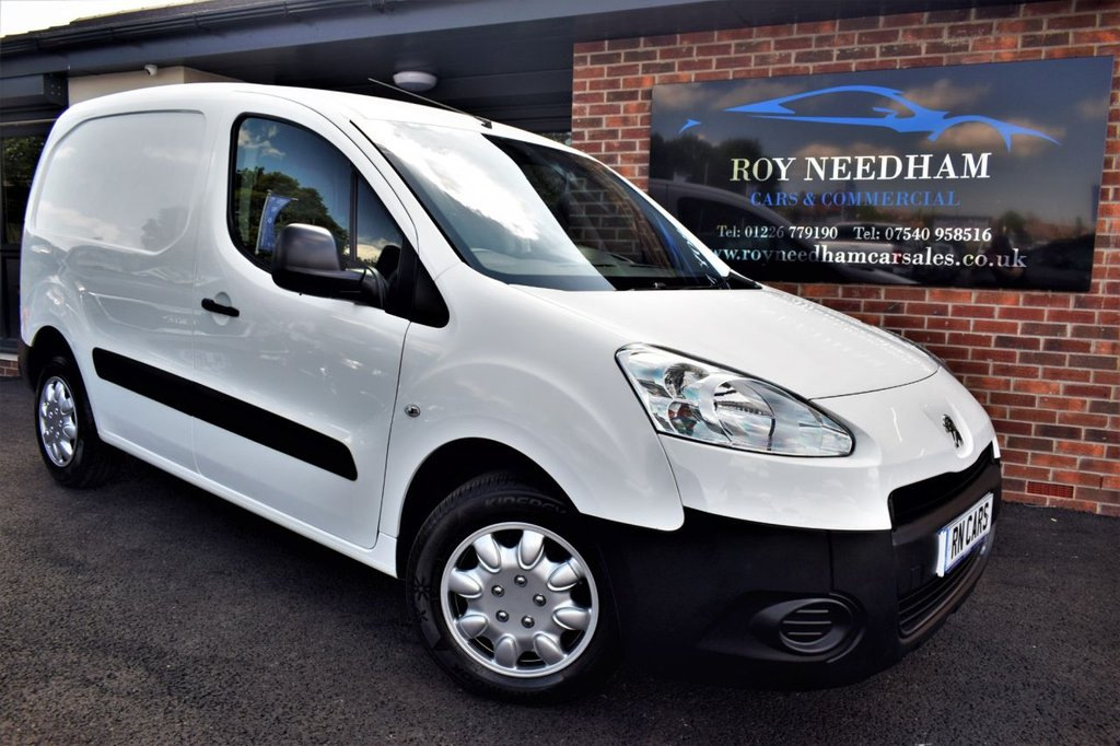 USED 2014 64 PEUGEOT PARTNER 1.6 HDI S L1 850 89 BHP *** 1 OWNER - PLY LINING - FULL HISTORY ***