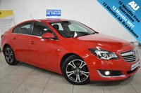USED 2014 64 VAUXHALL INSIGNIA 2.0 LIMITED EDITION CDTI ECOFLEX S/S 5d 160 BHP