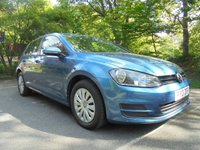 USED 2013 13 VOLKSWAGEN GOLF 1.6 S TDI BLUEMOTION TECHNOLOGY 5d 103 BHP EXCELLENT SERVICE HISTORY