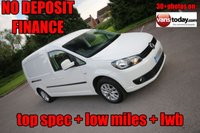 USED 2013 63 VOLKSWAGEN CADDY MAXI 1.6 C20 TDI HIGHLINE BMT + LOW MILES + TOP SPEC 1 KEEPER + LOW MILES + GOOD HISTORY + TOP SPEC