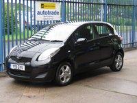 USED 2011 11 TOYOTA YARIS 1.3 TR VVT-I 5d 99 BHP Ideal 1st Car
