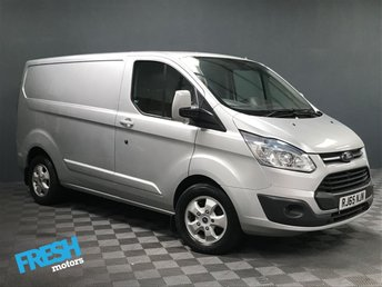 2015 FORD TRANSIT CUSTOM 2.2 270 LIMITED L1H1 (NO VAT) £11500.00