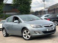 2011 VAUXHALL ASTRA 1.4 SRI 5d 98 BHP £3477.00
